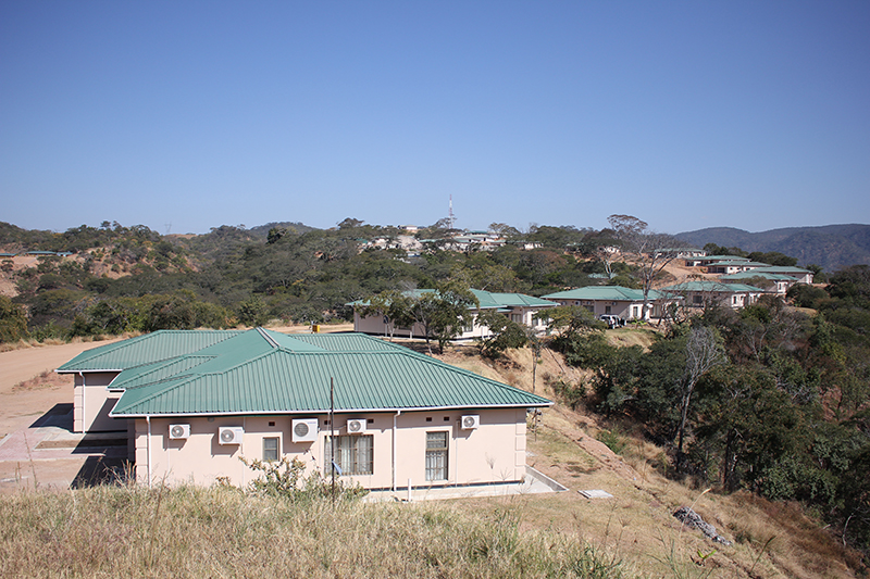 Villa group of lower kaifuxia hydropower station project (Zambia)