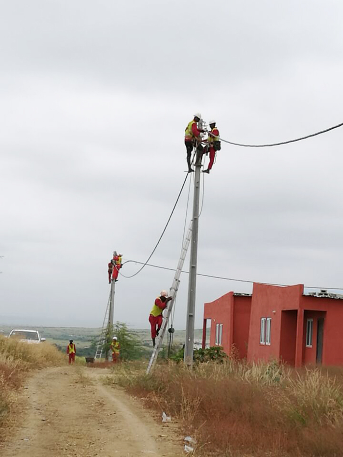 Luanda 300,000 households low-voltage distribution network project